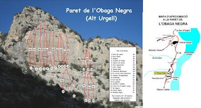 Photo: Lleida - ALT URGELL - Paret de L'Obaga Negra