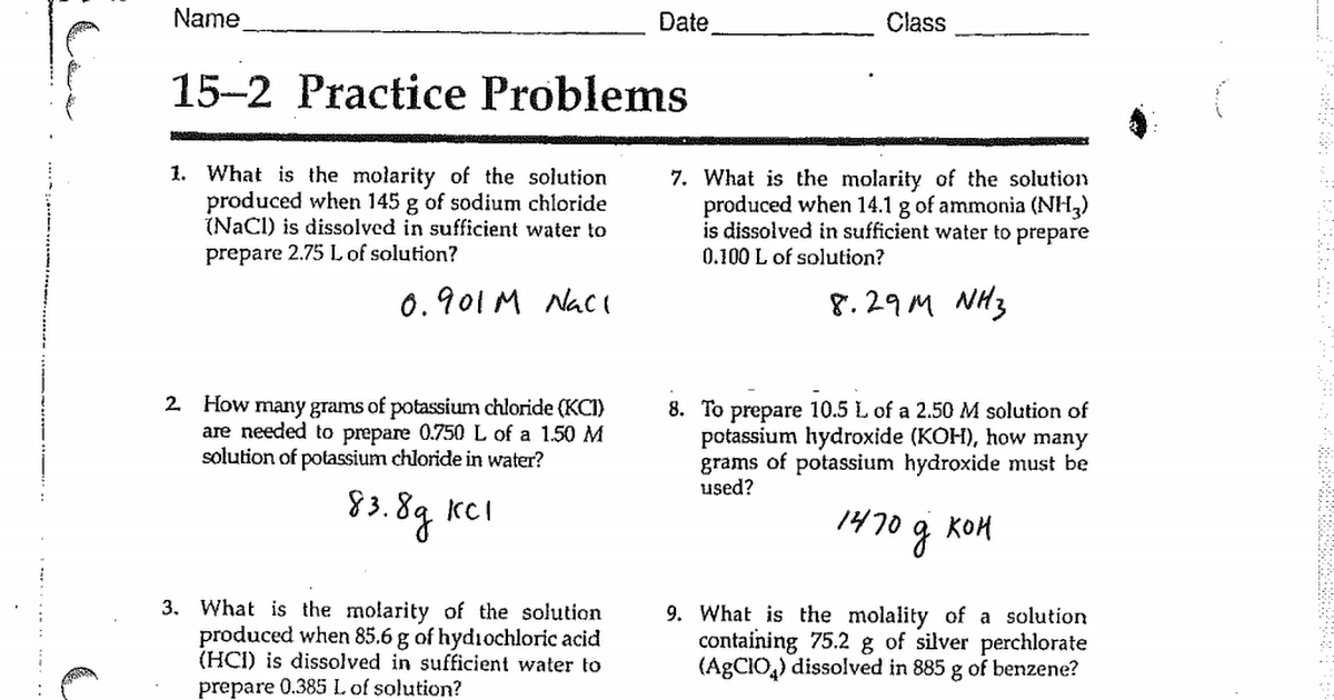 AE 15 2 Practice Problems Answers 16pdf