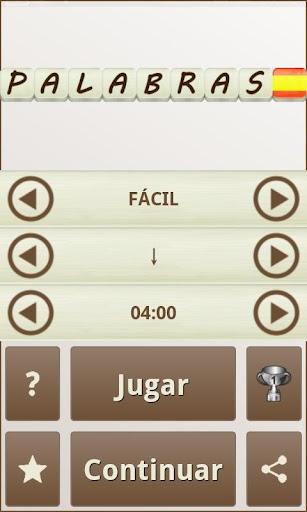 PALABRAS - Juego de Palabras en Espau00f1ol 1.17 screenshots 6