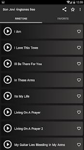 Bon Jovi ringtones free - náhled