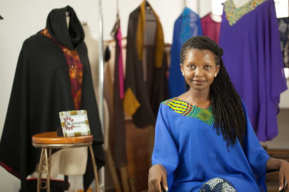 Linda Muthamia Of Kamami Bliss Linda Muthamia Google Arts Culture