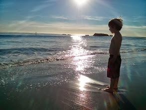 Photo: Clark at Laguna Beach