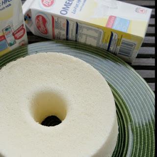 Cream Cheese Chiffon Cake.