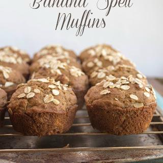 Banana Spelt Muffins