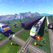 Great Train Driving Sim - Train Games