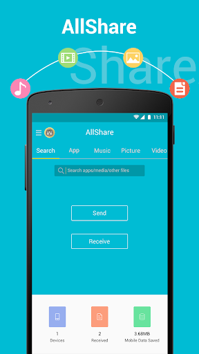 All Share - Apps File Transfer