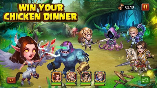 Heroes Charge HD (Unlimited Money) 3