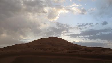 Photo: Sunrise in the Sahara.
