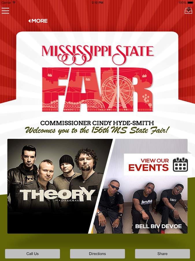 Mississippi State Fair- screenshot