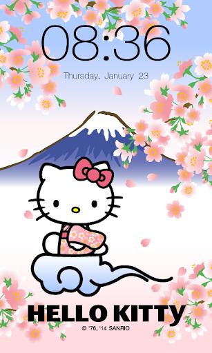 Hello Kitty Animated Lock screenshot 1