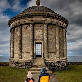 Mussenden Temple by Aamir DreamPix - Babies & Children Children Candids ( children, uk, northen ireland, temple )