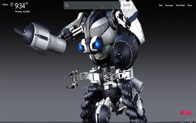 Robot Wallpapers HD Theme
