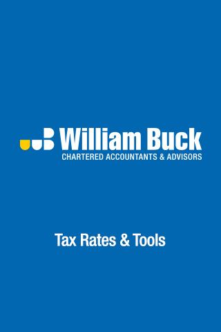 William Buck Tax Rates Tools