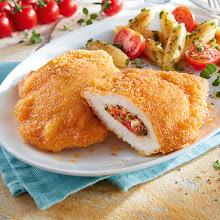 Abbildung Hähnchen-Filettasche Tomate-Mozzarella