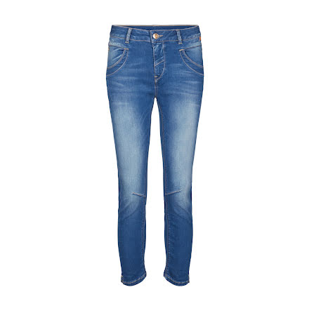 Mos Mosh Naomi sateen jeans blue denim
