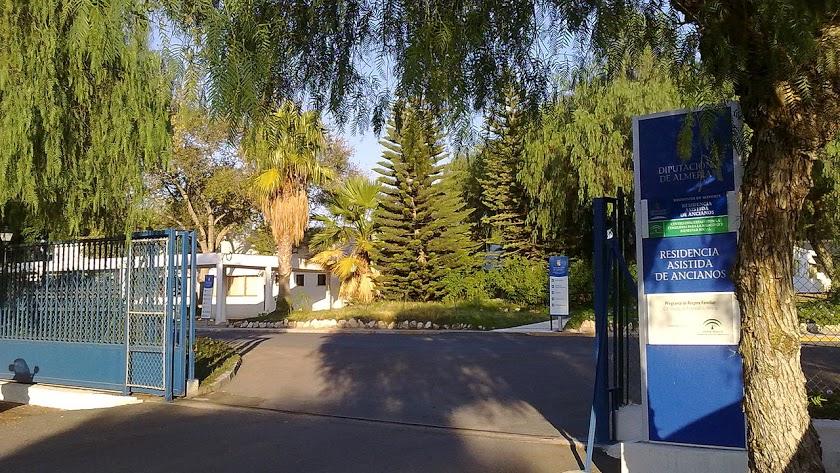 Imagen de archivo de la entrada al complejo de la Residencia Asistida.