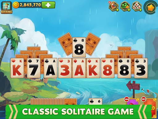 Solitaire - Island Adventure - Tripeaks 2.2.4 screenshots 9