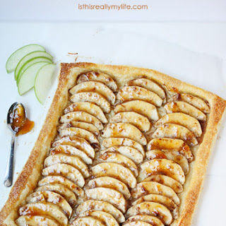 Easy Apple Apricot Crostata with Puff Pastry