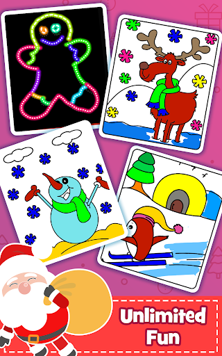Christmas Coloring Book & Games for kids & family 1.5 screenshots 7