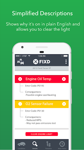 FIXD - Vehicle Health Monitor  screenshots 2