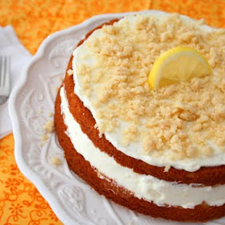 Lemon Cream Cake (Low Carb and Gluten Free)