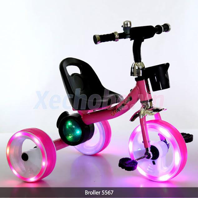 xe đạp cho bé dòng xe 3 bánh