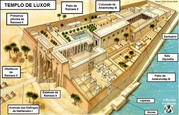 Resultado de imagem para templo de luxor