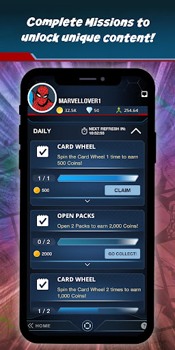 Marvel Collect! by Toppsu00ae Card Trader apktram screenshots 7