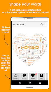 Word Cloud Screenshot