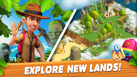 Funky Bay - Farm & Adventure game APK screenshot thumbnail 15