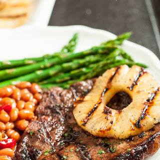 Hawaiian Grilled Pork Chops (+Giveaway)
