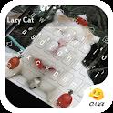 Lovely Lazy Kitty Cat Keyboard icon