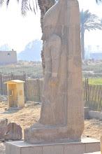 Photo: Ramses II statue in Memphis