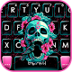 Roses Floral Skull Keyboard Theme Download on Windows