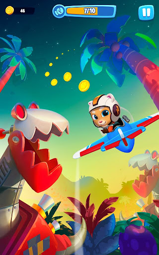 Talking Tom Sky Run: The Fun New Flying Game apktram screenshots 21