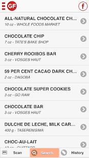 The Gluten Free Scanner · FULL- screenshot thumbnail