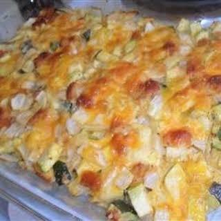 Cheesy Zucchini Casserole I.