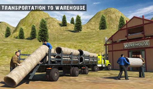 USA Truck Driving School: Off-road Transport Games 1.10 screenshots 17