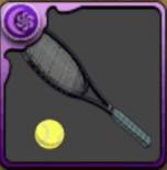 亜久津のテニスラケット