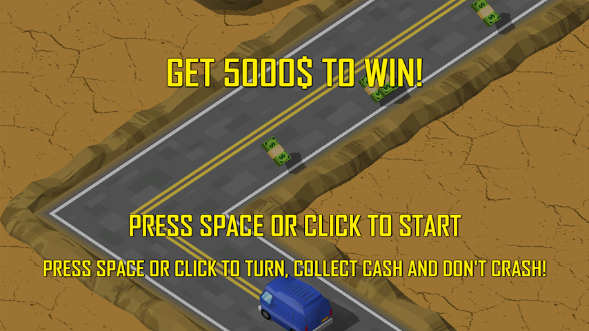 android ZigZag Car Challenge Screenshot 1