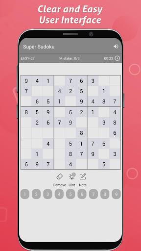Sudoku - Free Sudoku Puzzles screenshots 2
