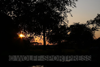 Photo: Sonnenuntergang in Alt-Schwerin
