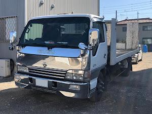 エルフトラック  積載車 極東フラトップのカスタム事例画像 ラヴ・アンリミテッド・オートサービスさんの2021年02月04日23:17の投稿