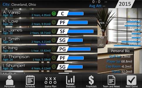 Basketball Dynasty Manager 15 v1.0.1