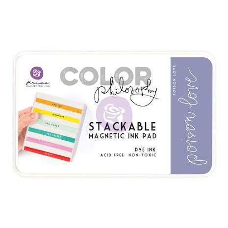 Prima Color Philosophy Dye Ink Pad - Poison Love UTGÅENDE