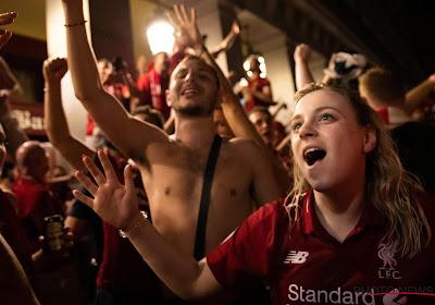 A Liverpool, une marée humaine a salué le retour des héros ! (Vidéo)