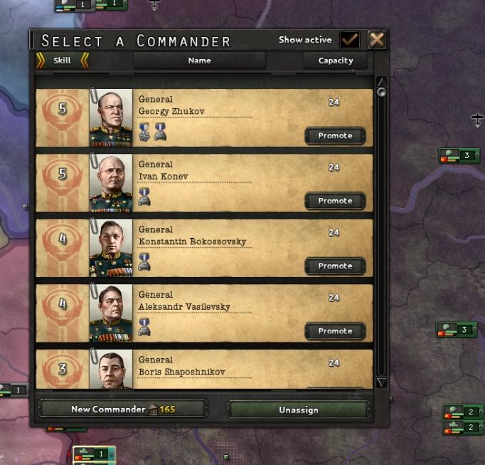 Problem of HoI IV Commanders Concept   Paradox Interactive