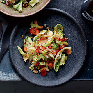 Quick-Pickled Vegetable Salad with Harissa Vinaigrette
