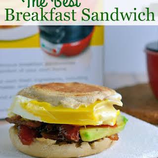 The BEST Breakfast Sandwich.