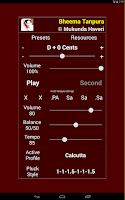 Screenshot of Bheema Tanpura Pro